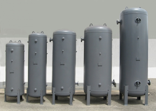 Standard Vertical Air Receiver Tank